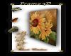 Frame flower 3D