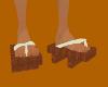 GUP* Geta Sandals