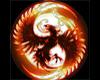 Etched Phoenix Shield