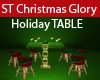 ST CHRISTMAS GLORY TABLE