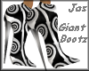 {JN} Giant Swirl Bootz