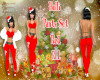 Holli Red Pants Set RLL
