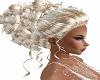 Blond Hair Evening Style
