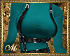 HARNESS SEXY TOP TEAL