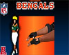 Bengals Men Rider Gloves