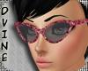 Dvine Rose Retro Glasses