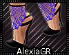 [A] Margie Blue Heels