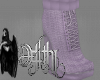 arnie fall boots lilac