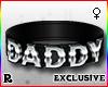☢! Daddy Collar Silver