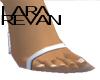 LR HH sandals white