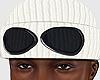 Goggle Beanie White