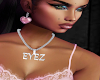 EYEZ diamond necklace