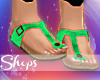 e| Green Flippies