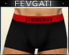 Hot Boxers - black red