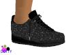 black nurse shoes