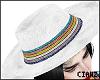 🌹 Sequin Hat White