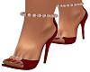 Red Bari Heels