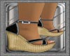 Ibiza's Black Sandals