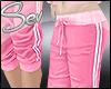 *S Pink Sweatpants