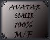 AVATAR SCALER 100% M.F