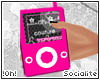 !0h! Pink Media Player.