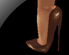 !! 7 Inch Brown Pumps