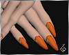 S. Orange Nails