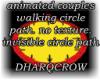 couples walking circle