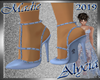 !a Alycia Blue Pumps