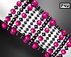 -P- Pink Pearl Cuff R