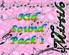 Kid Sound Pack1