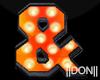 & Orange Neon Lamps
