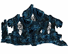 Large Rocks Dark Blue