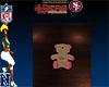 49ers Teddy Bear