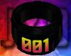 001 Black Perfect Ring L