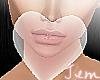 {J} Pink Heart Bubble