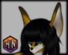 golden brown fox ears