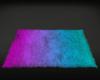 Neon Fur Rug