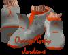 Js Orange JORDANS