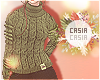 T-Neck Sweater Olive