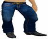 Cowboy up Blue jeans