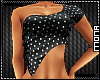 ~W~ Polka Dot Top Black