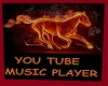 you tube player fire