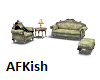 Country Sofa W/Poses