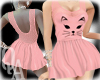 ^QA^ Cat Pink Dress