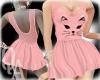 ^QA^ Cat Pink Dress
