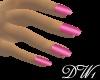 DW1 - Hot Pink Nails