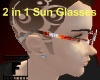 Inferno Red Sun Glasses