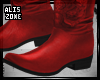 [AZ] Addisson Red boots