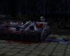 Zombie attack sofa